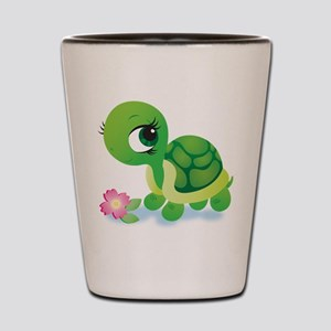 Toshi the Turtle Shot Glass