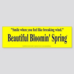 BUMPER STICKERS Sticker (Bumper)