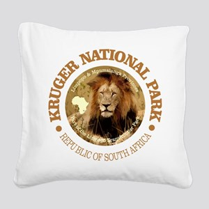 Kruger NP 2 Square Canvas Pillow