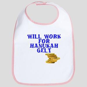 Will work for Hanukkah Gelt Bib