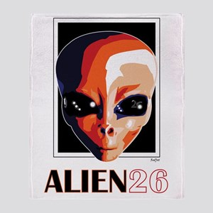 Alien 26, Dani Pedrosa Throw Blanket