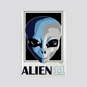 Alien 11, Ben Spies Rectangle Magnet