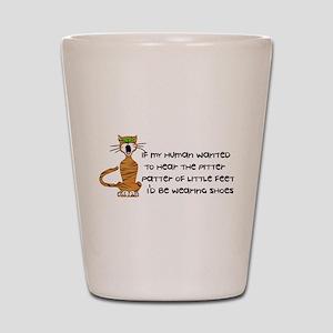Child-Free Kitty Cat Shot Glass