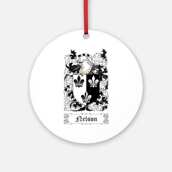Nelson II Ornament (Round)