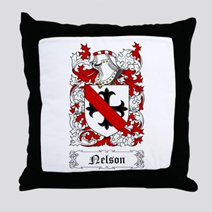Nelson I Throw Pillow