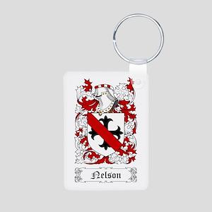 Nelson I Aluminum Photo Keychain