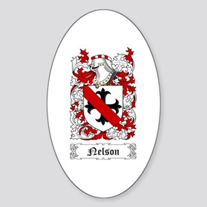 Nelson I Sticker (Oval)