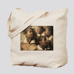 Four Studies of the Head of a Tote Bag