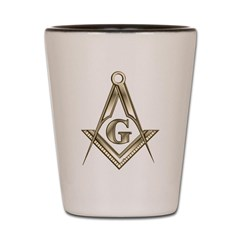 Freemasons Shot Glass
