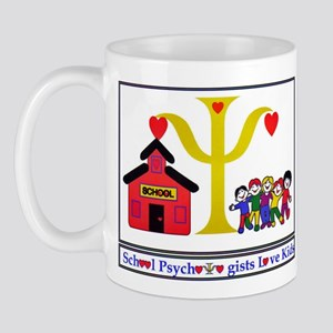 psych designs logo Mugs