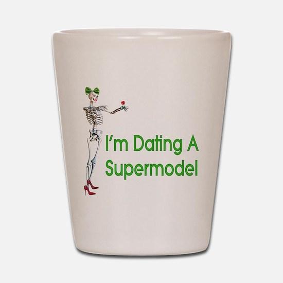 Date Supermodels Shot Glass
