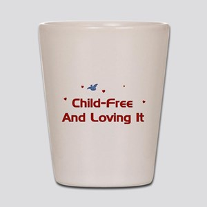 Child Free Shot Glass