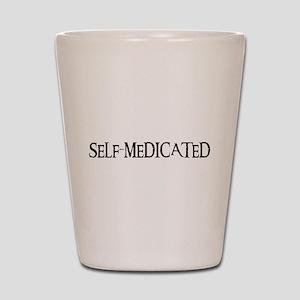 Self-Medicated Shot Glass