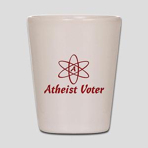 Atheist Voter Shot Glass