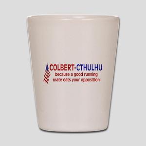 Colbert-Cthulhu Shot Glass