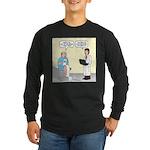 Doctor-Patient Drug Reque Long Sleeve Dark T-Shirt