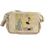 Doctor-Patient Drug Requests Messenger Bag