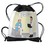 Doctor-Patient Drug Requests Drawstring Bag