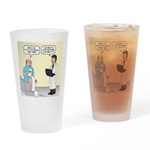 Doctor-Patient Drug Requests Drinking Glass