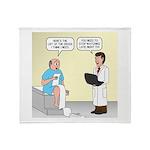 Doctor-Patient Drug Req Plush Fleece Throw Blanket