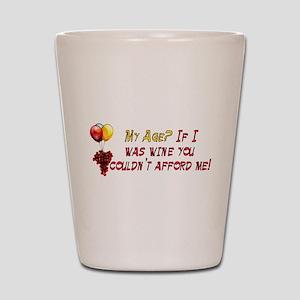 Fine Wine Shot Glass