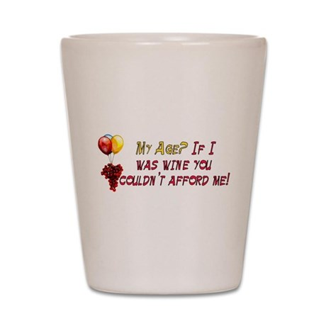 Fine Wine Shot Glass