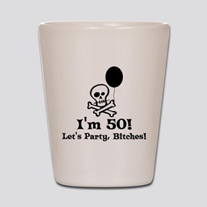 50th Birthday Party Shot Glass