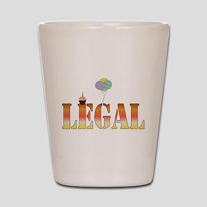 Finally Legal Birthday Shot Glass