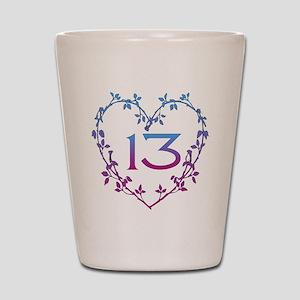 Thirteenth Birthday Shot Glass