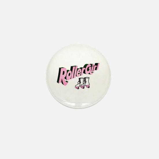 """Roller Girl"" Mini Button"