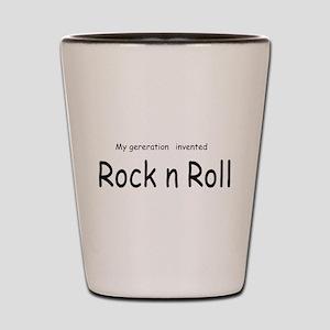 Rock n Roll Shot Glass