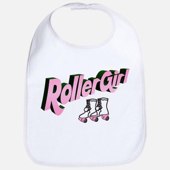 """""""Roller Girl"""" Bib"""
