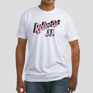"""""""Roller Girl"""" Fitted T-Shirt"""