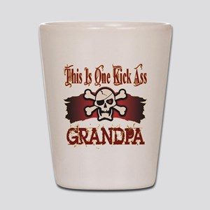 Kickass Grandpa Shot Glass