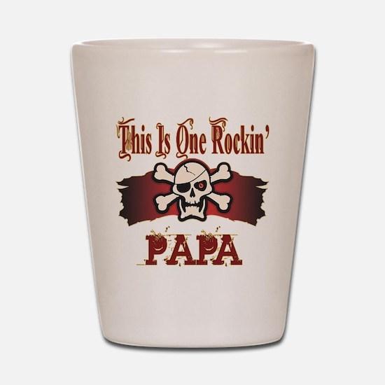 Rockin Papa Shot Glass