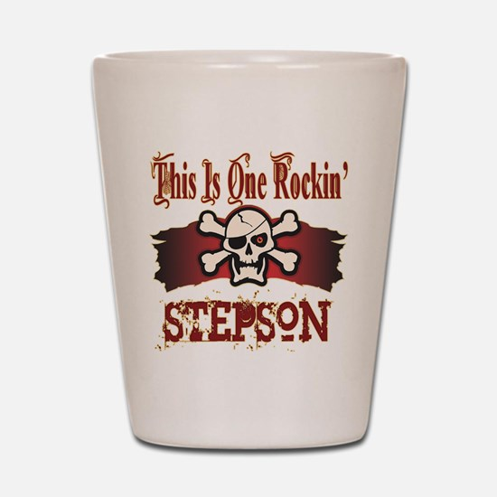 Rockin Stepson Shot Glass