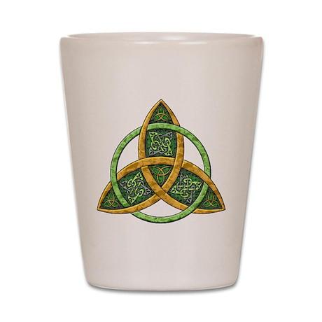 Celtic Trinity Knot Shot Glass