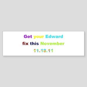 Edward Fix Sticker (Bumper)