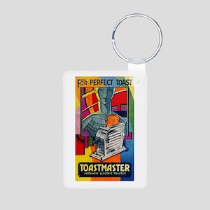 Toastmaster 1A1 Aluminum Photo Keychain