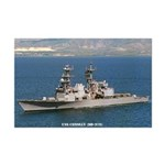 USS CONOLLY Mini Poster Print
