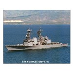 USS CONOLLY Small Poster
