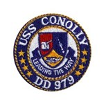 "USS CONOLLY 3.5"" Button"