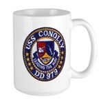 USS CONOLLY Large Mug