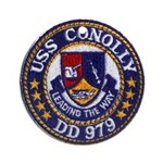 USS CONOLLY Ornament (Round)