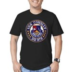 USS CONOLLY Men's Fitted T-Shirt (dark)