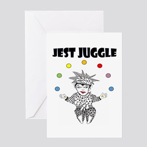 Jest Juggle Greeting Cards