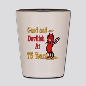 Devilish at 75 Shot Glass