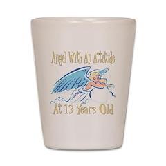 Angel Attitude 13th Shot Glass