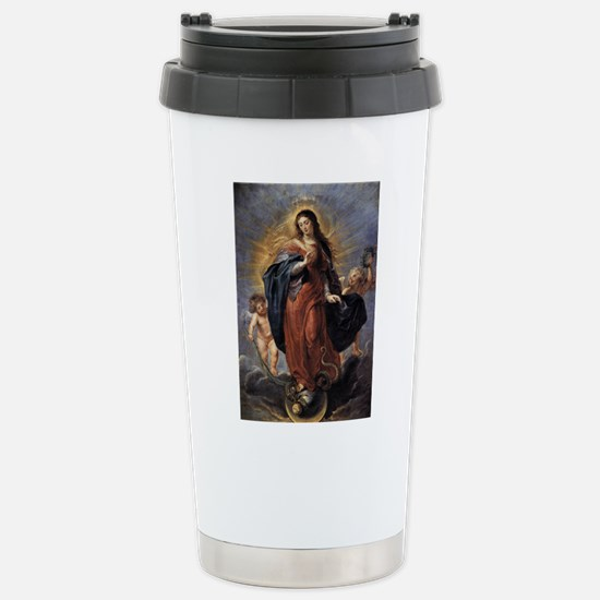 Immaculate Conception Stainless Steel Travel Mug