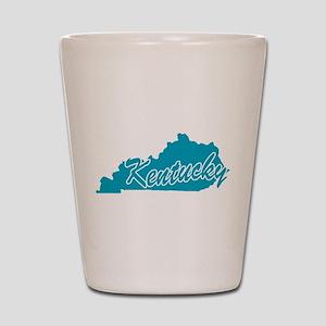 State Kentucky Shot Glass